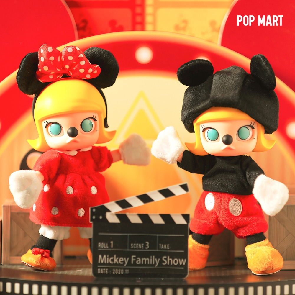 Molly BJD Mickey & Minnie - 몰리 BJD 미키 & 미니